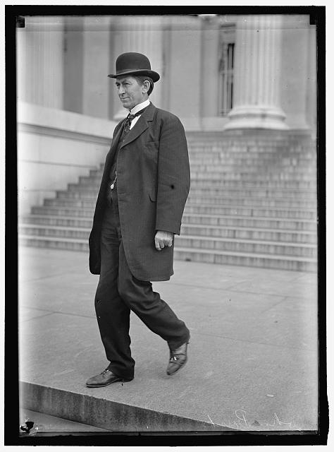 BURKE, JOHN. GOVERNOR OF NORTH DAKOTA, 1907-1912; TREASURER OF U.S., 1913