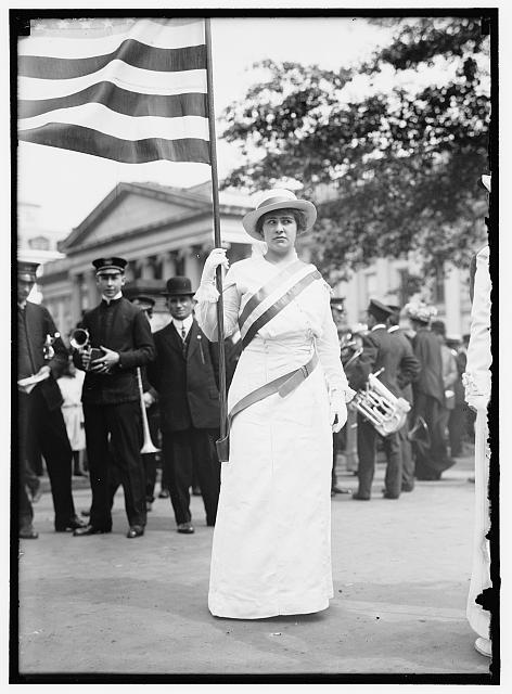 HITCHCOCK, HELEN. WOMAN SUFFRAGETTE