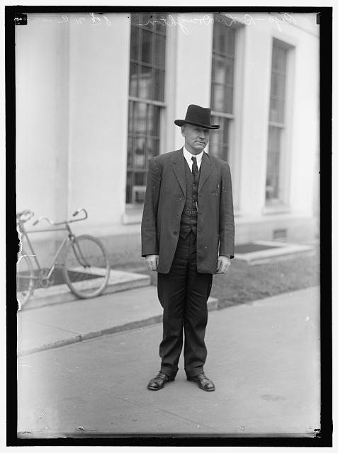DOUGHTON, ROBERT LEE. REP. FROM NORTH CAROLINA, 1911