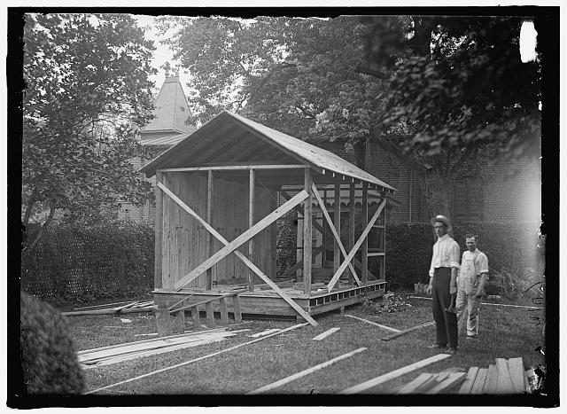 CAMP, WALTER, I.E., EXERCISE SCHOOL. BATH HOUSE FOR GOVERNMENT OFFICIALS