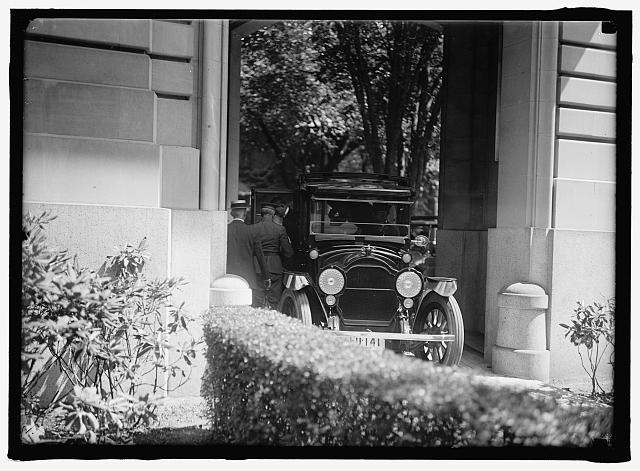 JAPANESE MISSION TO U.S. ARRIVAL AT RESIDENCE