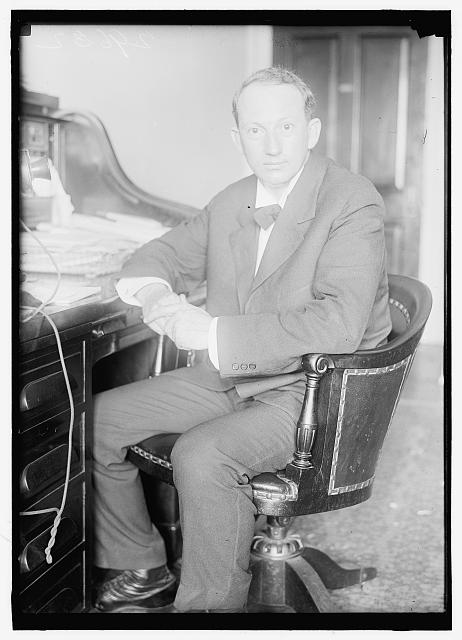 HARRISON, PAT. REP. FROM MISSISSIPPI, 1911-1919, SENATOR, 1919-. AT DESK