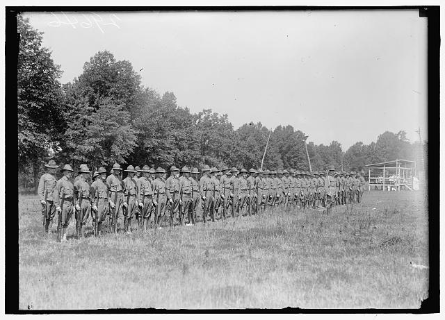 ARMY, U.S. COLONIAL RIFLES; UNIT