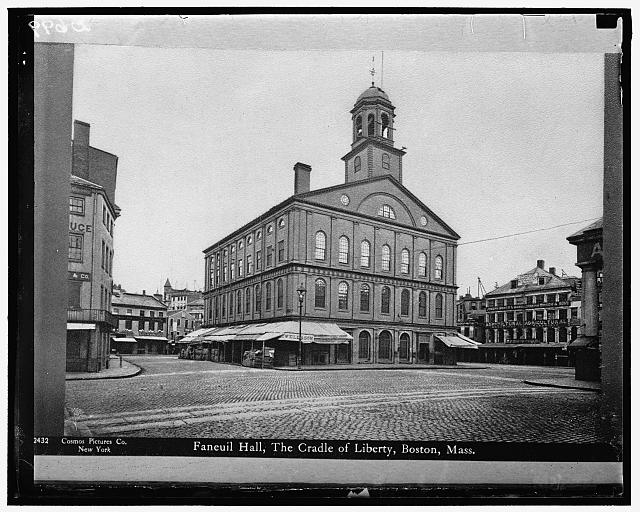 Faneuil Hall, Cradle of Liberty, Boston, Mass