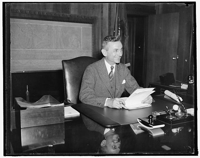 Sam Whitaker, Ass't to the Attorney General in Claims Division, 3/17/1936
