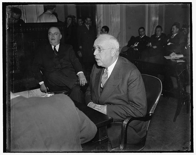 "Declares at Civil Liberties Committee. Washington, D.C., March 17. Paul S. Litchfield, President of the Goodyear Tire and Rubber Company, told the Lafollette Civil Liberties Committee today that while his firm recognized ""outside unions"" it kept an elaborate ""company union"" which is known as the ""the industrial assembly"", and it comprises an assembly and Senate, much as the state legislature. Acting in a capacity similar to a state Governor, the manager has power to disapprove assembly actions, he added"