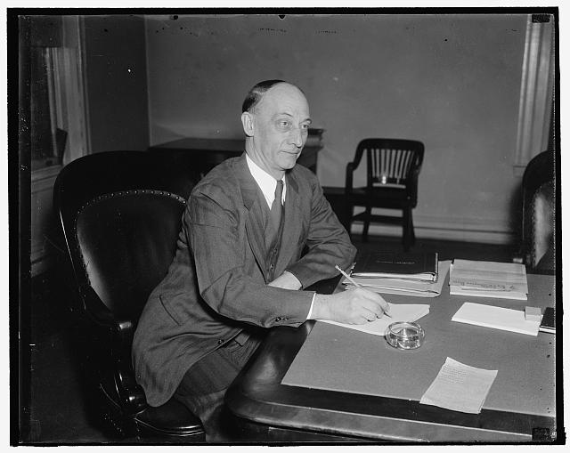 1938 Chairman of Federal Trade Commission. Washington, D.C., Jan. 3. Commissioner Garland S. Ferguson today assumed the chairmanship of the Federal Trade Commission for 1938. He was elected last week to succeed Commissioner William A. Ayres, 1/3/38
