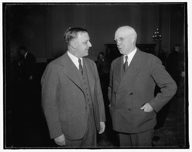Congressman Gardner Witherow (P) of Wisc. and Otto Case, of Washington