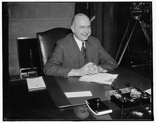 Nominated for Supreme Court. Washington, D.C., Jan. 15. 53-year-old Stanley F. Reed, Solicitor General of the United States, has been nominated by President Roosevelt to succeed Justice George Sutherland as a member of the Supreme Court, 1/15/38