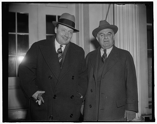 Gov. George Earle of Conn. and Senator Joseph Guffey