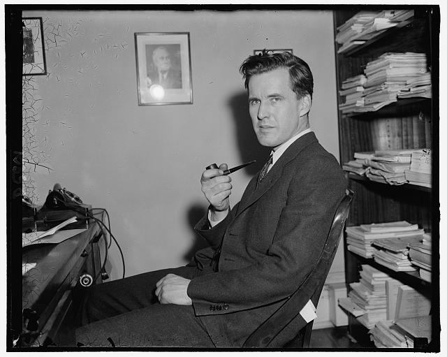 Rep. H. Jerry Voorhis, Democrat of Calif., 2-14-39