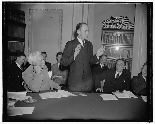 Pennsylvania Solon. Washington, D.C., April 12. A new informal picture of Rep. Charles I. Faddis, democrat of Pennsylvania. 4-12- 39