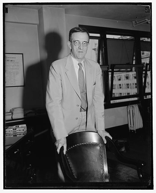 FPC Chairman. Washington, D.C., July 13. A new informal picture of Clyde L. Seavey, who has succeeded Frank R. McNinch as Chairman of the Federal Power Commission