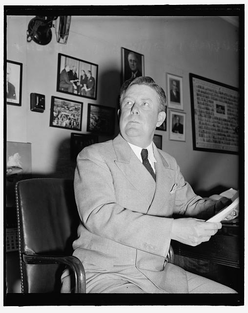 Washington representative. Washington, D.C., July 26. Rep. Martin F. Smith, Democrat from State of Washington, posed for this new informal picture a few days ago, 7/26/39
