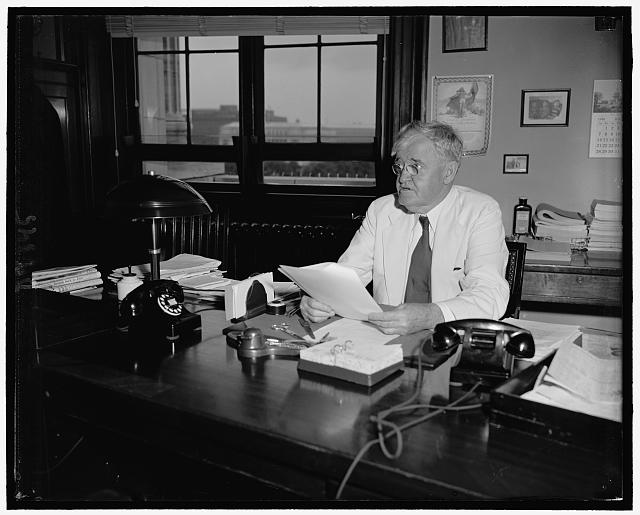 Senator Clyde M. Reed, Repub. of Kansas, 7-12-40