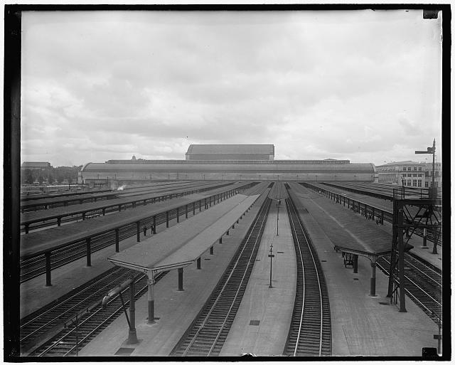 Railroad yards