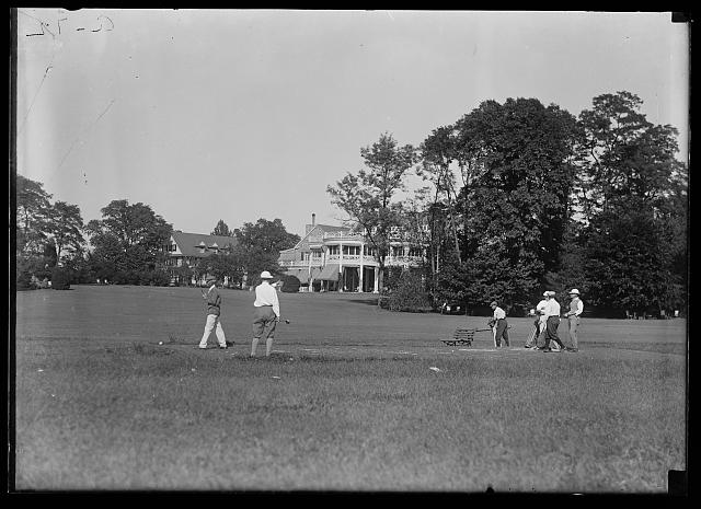 [Golf, Chevy Chase Club, Chevy Chase, Maryland]