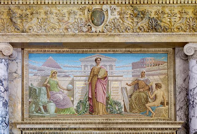 [Members Room. Mosaic entitled History by Frederick Dielman. Library of Congress Thomas Jefferson Building, Washington, D.C.]