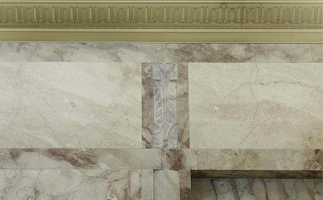 [Wall detail. Library of Congress John Adams Building, Washington, D.C.]