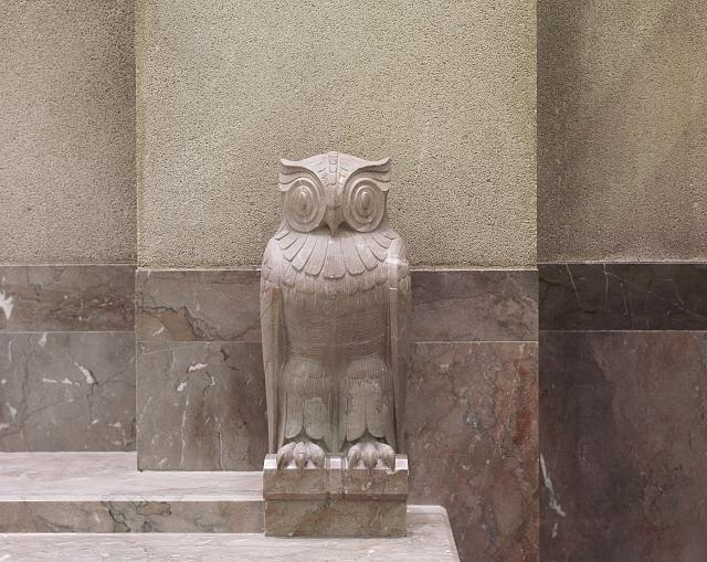 [Owl sculpture. Library of Congress John Adams Building, Washington, D.C.]