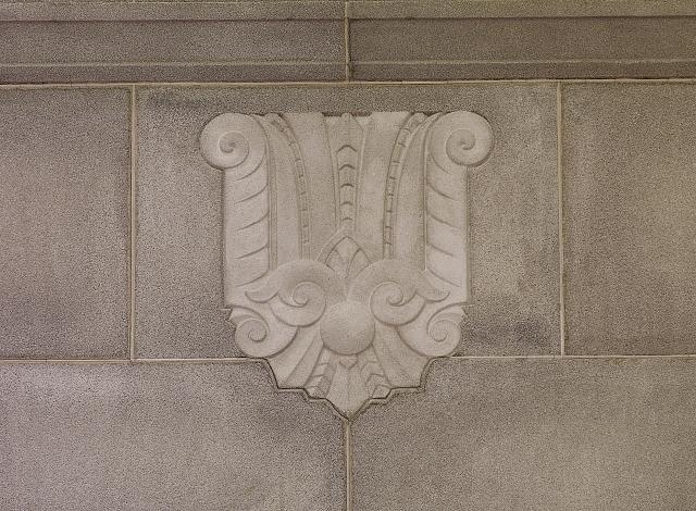 [Interior detail. Appears on walls of reading rooms and above doors on fifth floor. Library of Congress John Adams Building, Washington, D.C.]