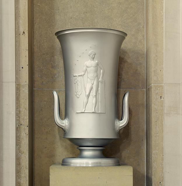 "Sculpture ""Temperance"" located at second floor elevator, no. 9, Department of Justice, Washington, D.C."