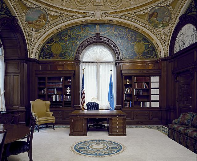 [Librarian&#39;s Room. Library of Congress Thomas Jefferson Building, Washington, D.C.]