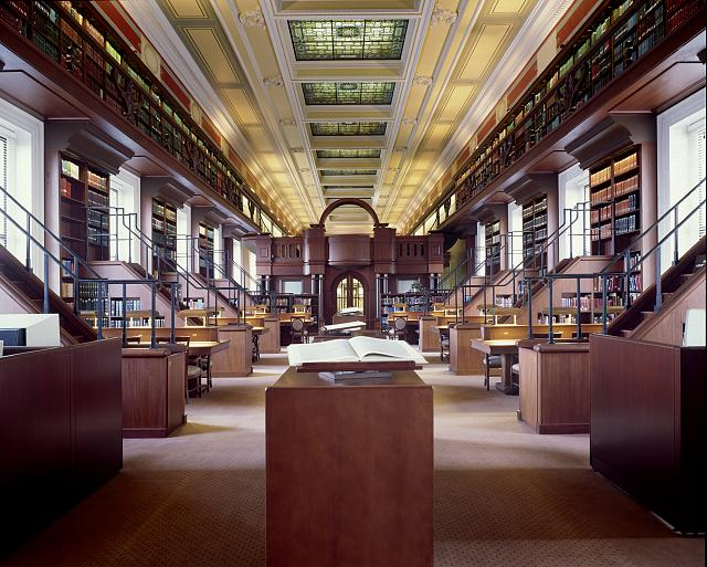 [African and Middle Eastern Reading Room (Area Studies). Library of Congress Thomas Jefferson Building, Washington, D.C.]