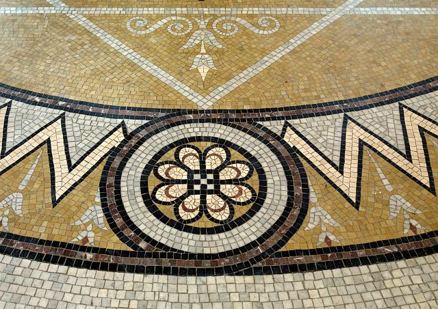 [Second Floor, Southwest Pavilion. Mosaic floor in the Pavilion of the Discoverers. Library of Congress Thomas Jefferson Building, Washington, D.C.]