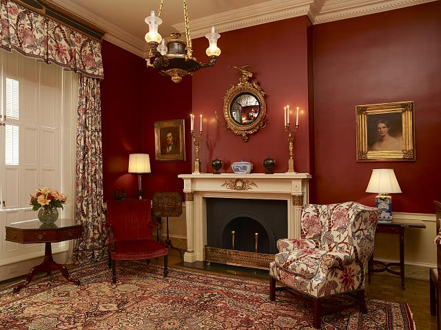 Truman study, Blair House, located across from the White House, Washington, D.C.