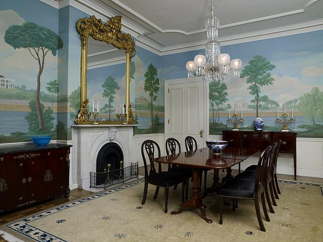 Jackson Place dining room, Blair House, located across from the White House, Washington, D.C.