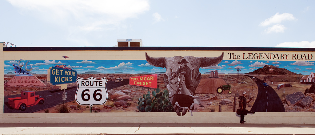 route 66 mural tucumcari new mexico