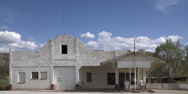 Old gas station, Truxton, Arizona