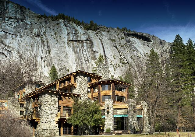 The Ahwahnee Hotel, Yosemite National Park, California