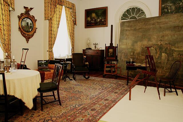 Robert E. Lee's Arlington House, interior, Arlington, Virginia
