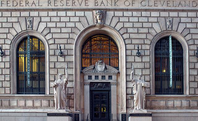 Fed Reserve building in Cleveland, Ohio