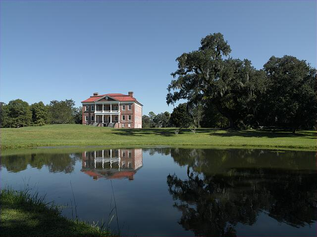 Drayton Hall plantation, Charleston, South Carolina