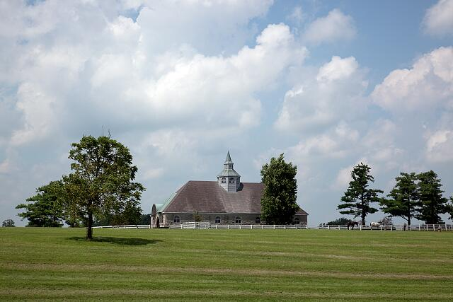 Horse farm, Lexington, Kentucky