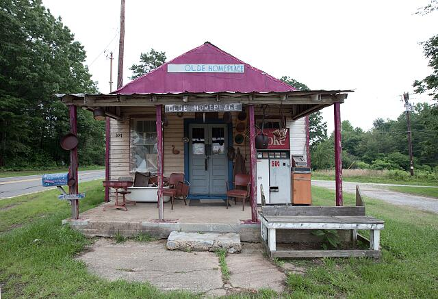 Old store, rural North Carolina