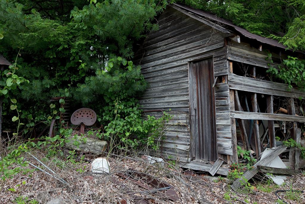 Old Tobacco Barn Rural North Carolina