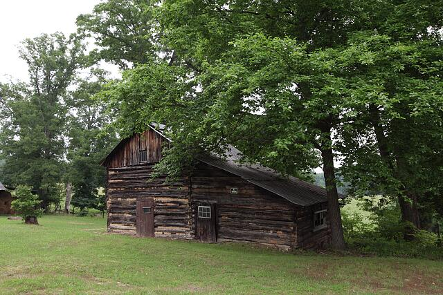 Old barn, rural North Carolina
