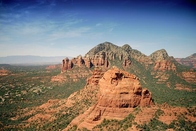 Aerial view from helicoptor, Sedona, Arizona