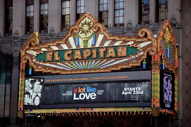 El Capitan Theatre Marquee, Los Angeles, California