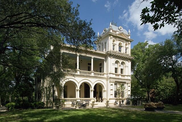 Villa Finale historic mansion, San Antonio, Texas
