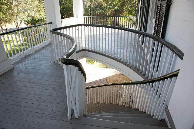 Staircase, Oakleigh House, Mobile, Alabama