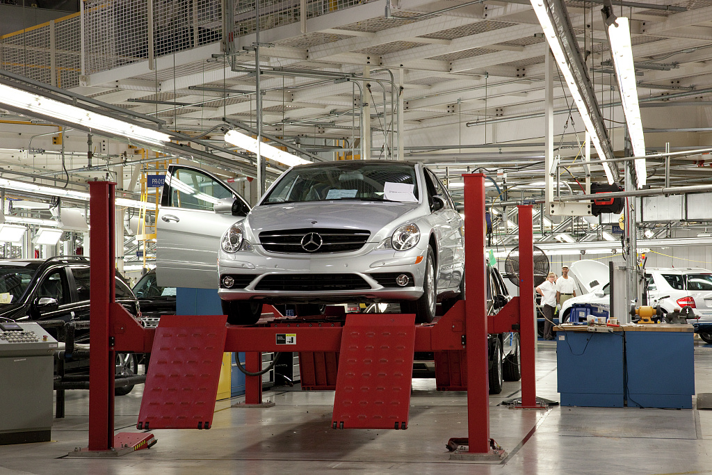 Mercedes benz u s international plant located in for Mercedes benz tuscaloosa