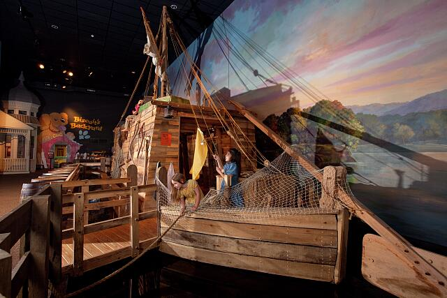 Earlyworks Children's History Museum, the South's largest hands-on history museum, located in Huntsville, Alabama