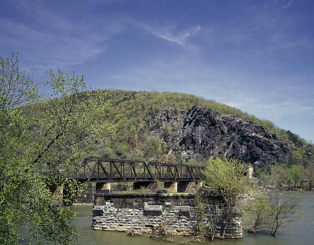 Appalachian Trail crossing, Harpers Ferry, West Virginia