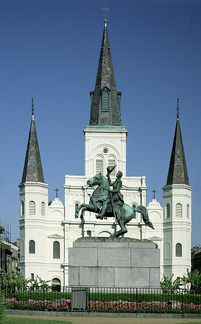 Historic Jackson Square, New Orleans, Louisiana