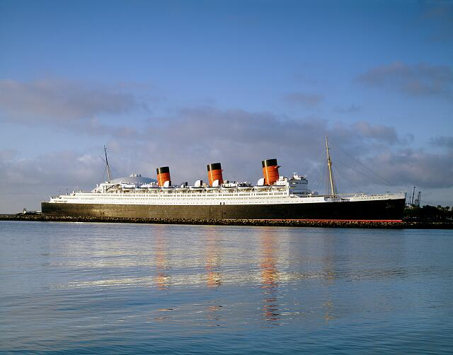 Queen Mary ship, Long Beach, California